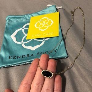 Black Kendra Scott Elisa necklace